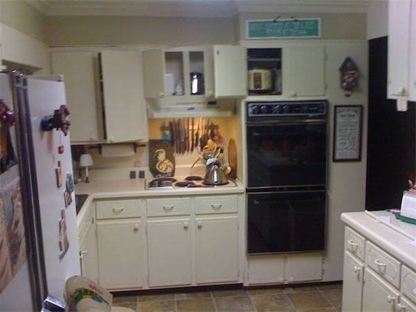 Kitchen remodel before work is started